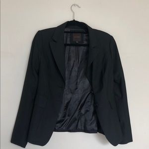 The Limited, Black long sleeve blazer.